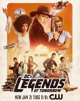 DC's Legends of Tomorrow S05E07 VOSTFR