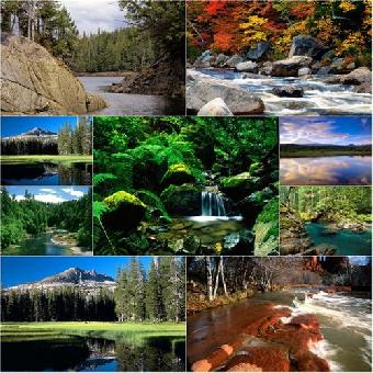 Rivers and Creeks Wallpapers