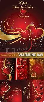 Stock vector Valentine Day Cards