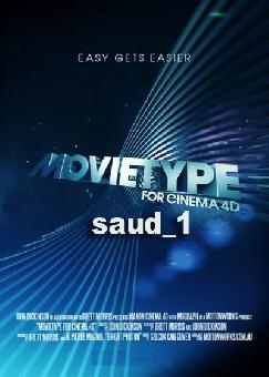 Motionworks - MovieType for Cinema 4D v.1 (x86-x64) Win-Mac