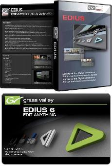 Grass Valley Edius 6.08 (+ Plugins)