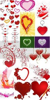 Valentine Day Hearts Collection 5
