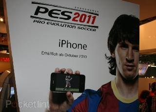 Pro Evolution Soccer 2011 pour Iphone